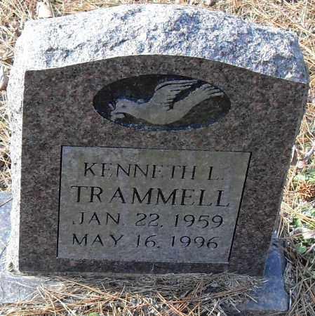 TRAMMELL, KENNETH - Pulaski County, Arkansas   KENNETH TRAMMELL - Arkansas Gravestone Photos