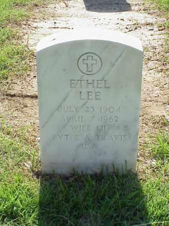 LEE TRAVIS, ETHEL - Pulaski County, Arkansas   ETHEL LEE TRAVIS - Arkansas Gravestone Photos