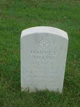 TRAVIS (VETERAN WWI), HARVEY - Pulaski County, Arkansas | HARVEY TRAVIS (VETERAN WWI) - Arkansas Gravestone Photos