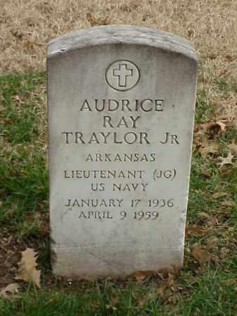 TRAYLOR, JR (VETERAN), AUDRICE RAY - Pulaski County, Arkansas | AUDRICE RAY TRAYLOR, JR (VETERAN) - Arkansas Gravestone Photos