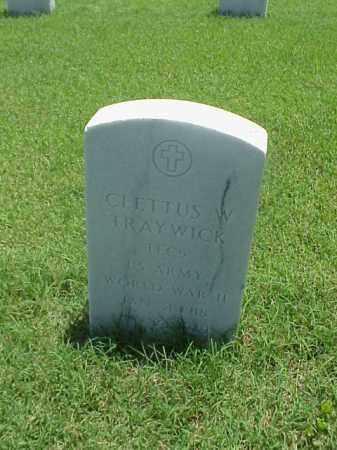 TRAYWICK (VETERAN WWII), CLETTUS W - Pulaski County, Arkansas | CLETTUS W TRAYWICK (VETERAN WWII) - Arkansas Gravestone Photos