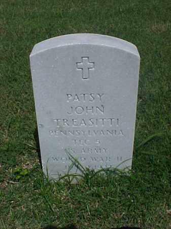TREASITTI (VETERAN WWII), PATSY JOHN - Pulaski County, Arkansas   PATSY JOHN TREASITTI (VETERAN WWII) - Arkansas Gravestone Photos