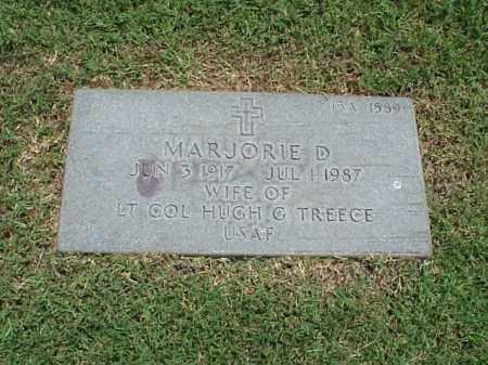 TREECE, MARJORIE D - Pulaski County, Arkansas   MARJORIE D TREECE - Arkansas Gravestone Photos