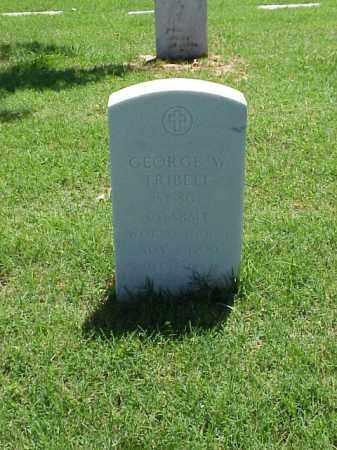TRIBELL (VETERAN WWII), GEORGE W - Pulaski County, Arkansas | GEORGE W TRIBELL (VETERAN WWII) - Arkansas Gravestone Photos