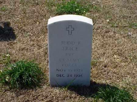TRICE (VETERAN KOR), JUDD F - Pulaski County, Arkansas | JUDD F TRICE (VETERAN KOR) - Arkansas Gravestone Photos