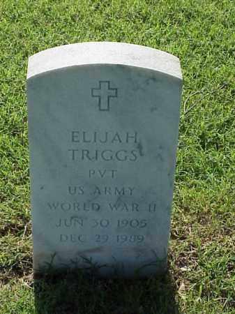 TRIGGS (VETERAN WWII), ELIJAH - Pulaski County, Arkansas   ELIJAH TRIGGS (VETERAN WWII) - Arkansas Gravestone Photos