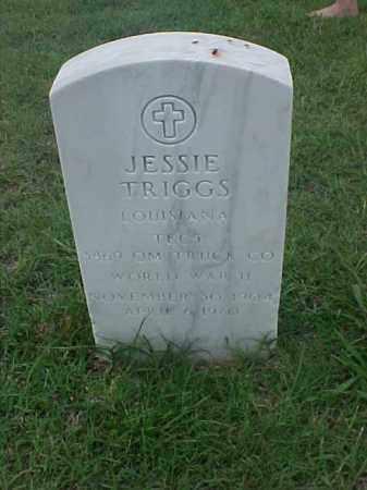 TRIGGS (VETERAN WWII), JESSIE - Pulaski County, Arkansas | JESSIE TRIGGS (VETERAN WWII) - Arkansas Gravestone Photos
