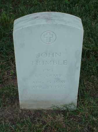 TRIMBLE (VETERAN WWI), JOHN - Pulaski County, Arkansas | JOHN TRIMBLE (VETERAN WWI) - Arkansas Gravestone Photos