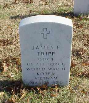 TRIPP (VETERAN 3 WARS), JAMES F - Pulaski County, Arkansas | JAMES F TRIPP (VETERAN 3 WARS) - Arkansas Gravestone Photos