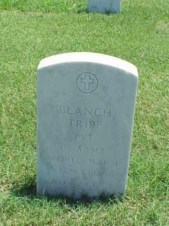 TRIPP (VETERAN WWI), BLANCH - Pulaski County, Arkansas | BLANCH TRIPP (VETERAN WWI) - Arkansas Gravestone Photos