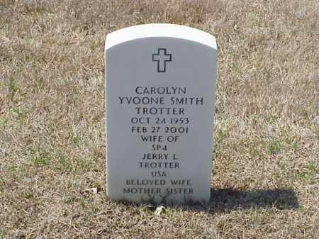 SMITH TROTTER, CAROLYN YVOONE - Pulaski County, Arkansas | CAROLYN YVOONE SMITH TROTTER - Arkansas Gravestone Photos