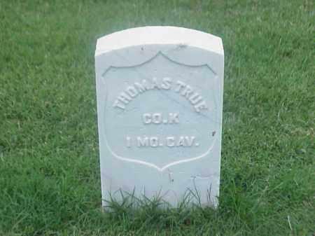 TRUE (VETERAN UNION), THOMAS - Pulaski County, Arkansas | THOMAS TRUE (VETERAN UNION) - Arkansas Gravestone Photos
