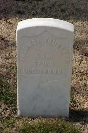 TRUELOCK (VETERAN UNION), SOLOMON - Pulaski County, Arkansas | SOLOMON TRUELOCK (VETERAN UNION) - Arkansas Gravestone Photos