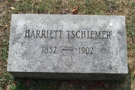 TSCHIEMER, HARRIETT - Pulaski County, Arkansas | HARRIETT TSCHIEMER - Arkansas Gravestone Photos