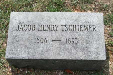 TSCHIEMER, JACOB HENRY - Pulaski County, Arkansas | JACOB HENRY TSCHIEMER - Arkansas Gravestone Photos