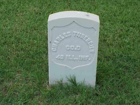 TUBERGIER (VETERAN UNION), CHARLES - Pulaski County, Arkansas   CHARLES TUBERGIER (VETERAN UNION) - Arkansas Gravestone Photos