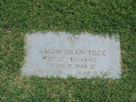 TUCK (VETERAN WWII), AMON DEAN - Pulaski County, Arkansas   AMON DEAN TUCK (VETERAN WWII) - Arkansas Gravestone Photos