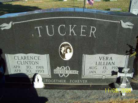 TUCKER, CLARENCE CLINTON - Pulaski County, Arkansas | CLARENCE CLINTON TUCKER - Arkansas Gravestone Photos