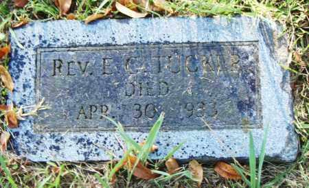 TUCKER, REV., E. G. - Pulaski County, Arkansas | E. G. TUCKER, REV. - Arkansas Gravestone Photos