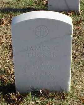TUCKER (VETERAN 2 WARS), JAMES C - Pulaski County, Arkansas | JAMES C TUCKER (VETERAN 2 WARS) - Arkansas Gravestone Photos
