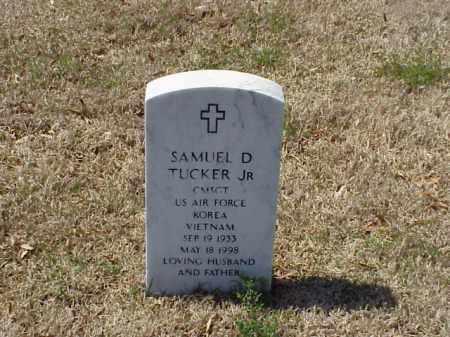TUCKER (VETERAN 2 WARS), SAMUEL D - Pulaski County, Arkansas   SAMUEL D TUCKER (VETERAN 2 WARS) - Arkansas Gravestone Photos