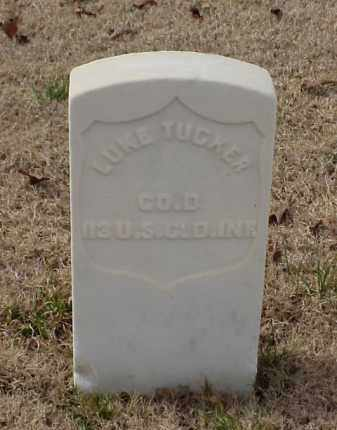 TUCKER (VETERAN UNION), LUKE - Pulaski County, Arkansas | LUKE TUCKER (VETERAN UNION) - Arkansas Gravestone Photos