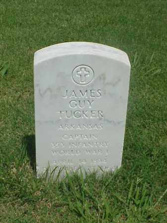 TUCKER (VETERAN WWI), JAMES GUY - Pulaski County, Arkansas | JAMES GUY TUCKER (VETERAN WWI) - Arkansas Gravestone Photos