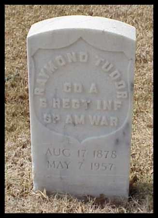 TUDOR (VETERAN SAW), RAYMOND - Pulaski County, Arkansas   RAYMOND TUDOR (VETERAN SAW) - Arkansas Gravestone Photos