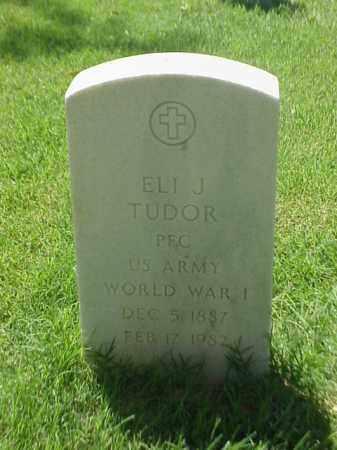 TUDOR (VETERAN WWI), ELI J - Pulaski County, Arkansas | ELI J TUDOR (VETERAN WWI) - Arkansas Gravestone Photos
