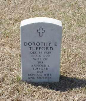 TUFFORD, DOROTHY E - Pulaski County, Arkansas | DOROTHY E TUFFORD - Arkansas Gravestone Photos