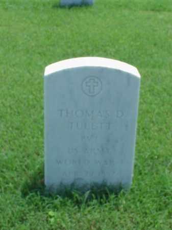 TULETT (VETERAN WWI), THOMAS D - Pulaski County, Arkansas | THOMAS D TULETT (VETERAN WWI) - Arkansas Gravestone Photos