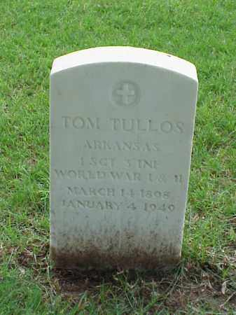 TULLOS (VETERAN 2 WARS), TOM - Pulaski County, Arkansas | TOM TULLOS (VETERAN 2 WARS) - Arkansas Gravestone Photos