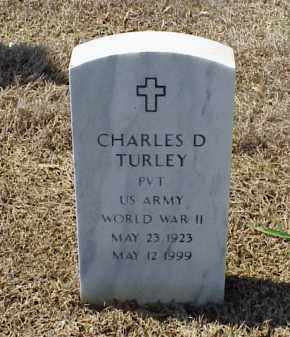 TURLEY (VETERAN WWII), CHARLES D - Pulaski County, Arkansas | CHARLES D TURLEY (VETERAN WWII) - Arkansas Gravestone Photos