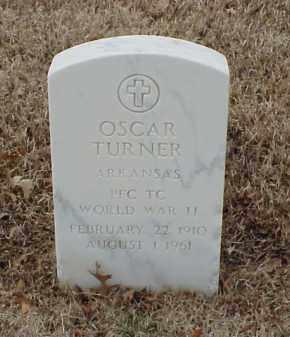 TURNER  (VETERAN WWII), OSCAR - Pulaski County, Arkansas   OSCAR TURNER  (VETERAN WWII) - Arkansas Gravestone Photos