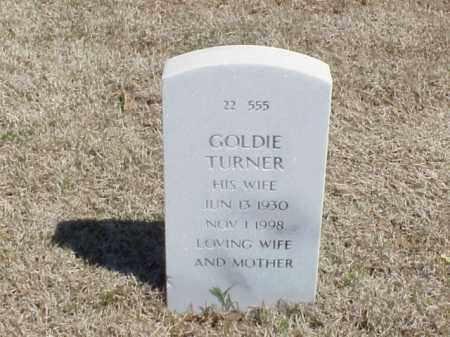 TURNER, GOLDIE - Pulaski County, Arkansas | GOLDIE TURNER - Arkansas Gravestone Photos