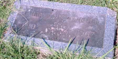 TURNER, JULIA  ANN - Pulaski County, Arkansas | JULIA  ANN TURNER - Arkansas Gravestone Photos