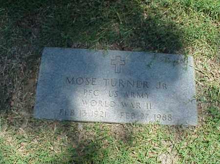 TURNER, SR (VETERAN WWII), MOSE - Pulaski County, Arkansas | MOSE TURNER, SR (VETERAN WWII) - Arkansas Gravestone Photos