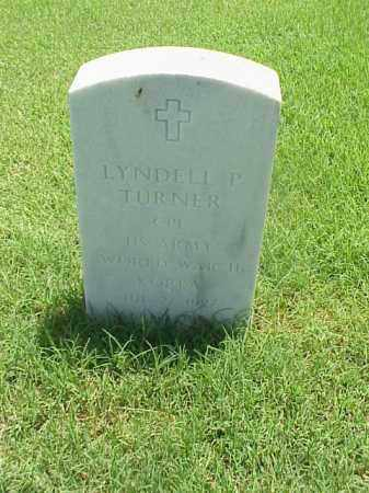 TURNER (VETERAN 2 WARS), LYNDELL P - Pulaski County, Arkansas | LYNDELL P TURNER (VETERAN 2 WARS) - Arkansas Gravestone Photos
