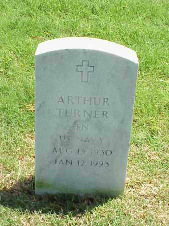TURNER (VETERAN), ARTHUR - Pulaski County, Arkansas | ARTHUR TURNER (VETERAN) - Arkansas Gravestone Photos