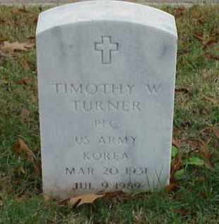 TURNER (VETERAN KOR), TIMOTHY W - Pulaski County, Arkansas | TIMOTHY W TURNER (VETERAN KOR) - Arkansas Gravestone Photos