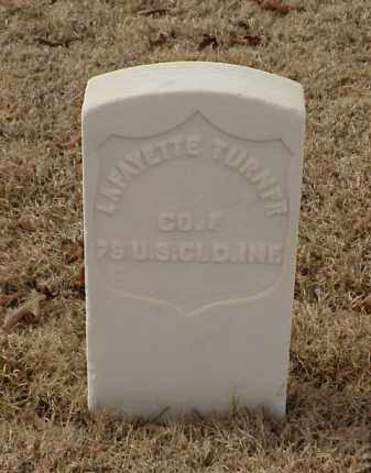 TURNER (VETERAN UNION), LAFAYETTE - Pulaski County, Arkansas | LAFAYETTE TURNER (VETERAN UNION) - Arkansas Gravestone Photos