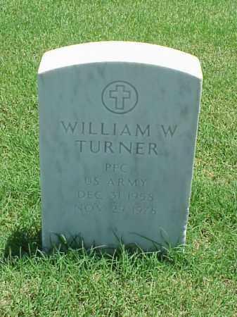 TURNER (VETERAN), WILLIAM W - Pulaski County, Arkansas | WILLIAM W TURNER (VETERAN) - Arkansas Gravestone Photos