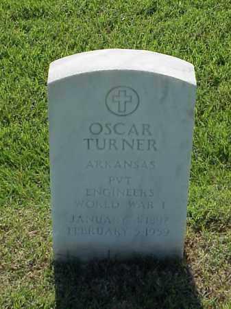 TURNER (VETERAN WWI), OSCAR - Pulaski County, Arkansas   OSCAR TURNER (VETERAN WWI) - Arkansas Gravestone Photos