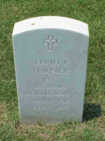 TURNER (VETERAN WWII), OVID I - Pulaski County, Arkansas | OVID I TURNER (VETERAN WWII) - Arkansas Gravestone Photos