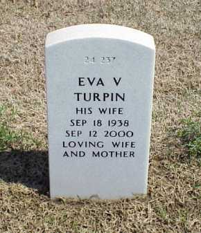 TURPIN, EVA V - Pulaski County, Arkansas | EVA V TURPIN - Arkansas Gravestone Photos