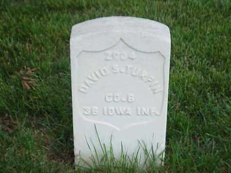 TURPIN (VETERAN UNION), DAVID S - Pulaski County, Arkansas   DAVID S TURPIN (VETERAN UNION) - Arkansas Gravestone Photos