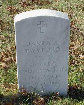 TWYFORD (VETERAN WWII), JAMES A - Pulaski County, Arkansas | JAMES A TWYFORD (VETERAN WWII) - Arkansas Gravestone Photos