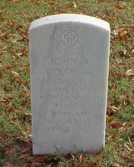 TYLER, JR (VETERAN 3 WARS), JOHN A - Pulaski County, Arkansas | JOHN A TYLER, JR (VETERAN 3 WARS) - Arkansas Gravestone Photos
