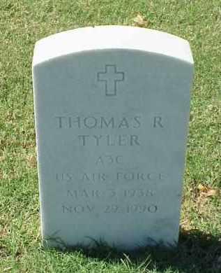 TYLER (VETERAN), THOMAS R - Pulaski County, Arkansas | THOMAS R TYLER (VETERAN) - Arkansas Gravestone Photos