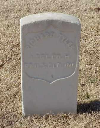 TYLER (VETERAN UNION), RICHARD - Pulaski County, Arkansas | RICHARD TYLER (VETERAN UNION) - Arkansas Gravestone Photos